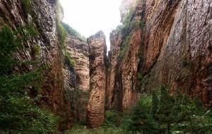 【长治图片】中国的科罗拉多大峡谷――黄崖洞
