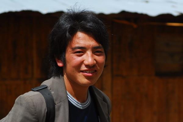 还有藏族帅哥