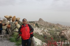 土耳其埃及十八天探险之旅...卡帕多奇亚鸽子谷风景区随拍
