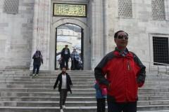 土耳其埃及十八天探险之旅...游伊斯坦布尔蓝顶清真寺记