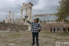 土耳其埃及十八天探险之旅...土耳其世界奇观白加孟古城遗址随拍