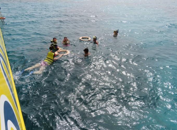 【埃及2.】赫尔加达—度假酒店—红海玻璃船