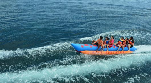 巴厘岛蓝梦岛一日游(海底漫步+无限次浮潜+独木舟+香蕉船+甜甜圈+海上
