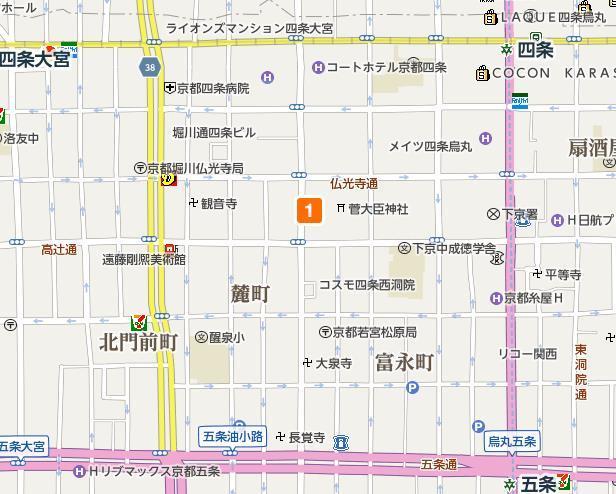 京都巴士线路图17
