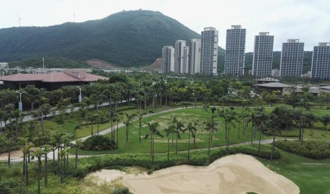 保利银滩,住的是阳江海陵岛保利豪廷度假公寓,业主买了房不住后作为