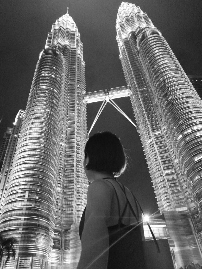 从吉隆坡机场到双子塔