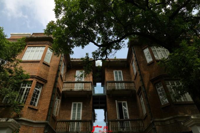 東山口民國紅磚花園洋房別墅,廣州最美的鬧中取靜舊城街區#有岸·白