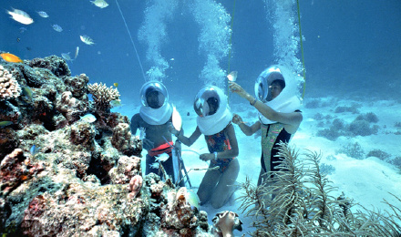 巴厘岛 蓝梦岛贝尼达号浮潜一日游 ( 三点浮潜 6大水上项目 恶魔眼泪