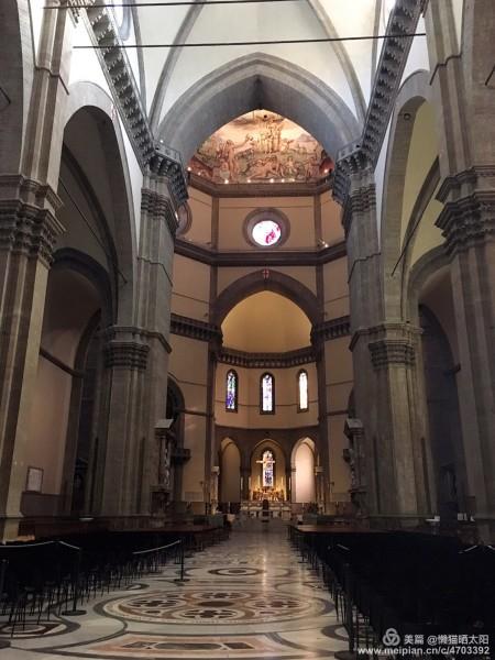 西欧中世纪拱顶手绘图