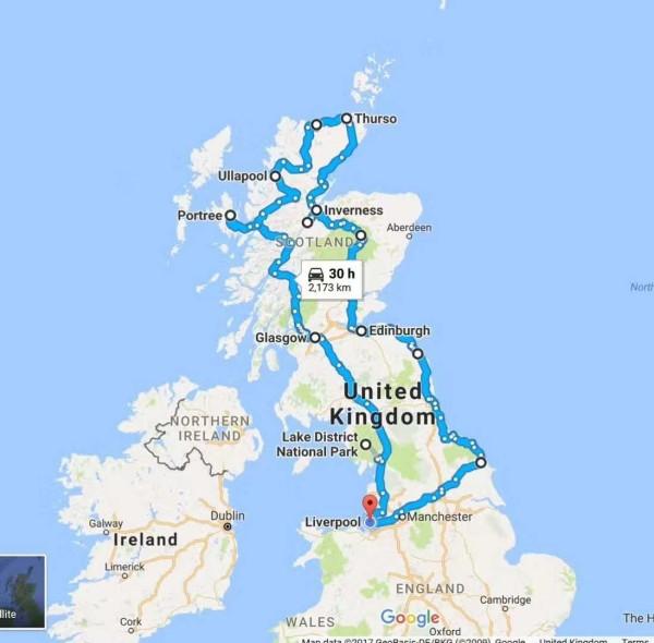 英国湖区 格拉斯哥 苏格兰高地 爱丁堡 九天八晚自驾游