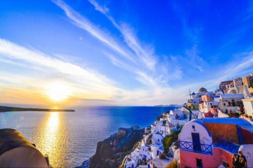 香港出发:希腊雅典 圣托尼亚 扎金索斯岛10天7晚跟团游(圣岛自由活动