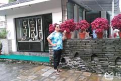 南亚尼泊尔佛教之行...夜宿博卡拉巴拉喜岛宾馆