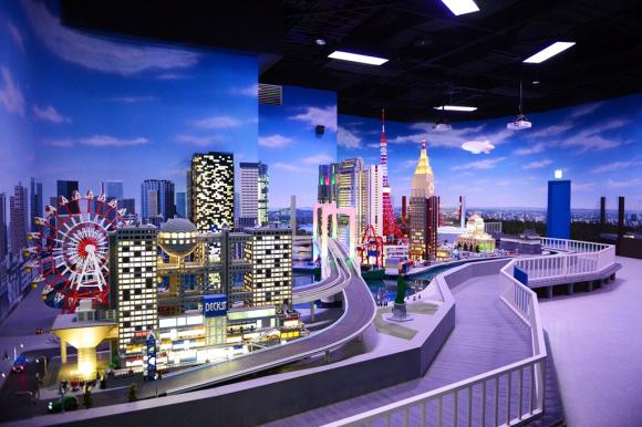 乐高乐园 科学未来馆 mega-web汽车主题乐园 东京塔包车游(乐高积木