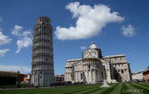 【比萨图片】劳动者的脚步,五一节(罗马、比萨、佛罗伦萨、威尼斯)一日游