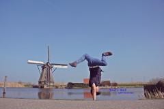 【荷兰。景点】不会英文也要去世界遗产~小孩堤防(Kinderdijk)攻略。