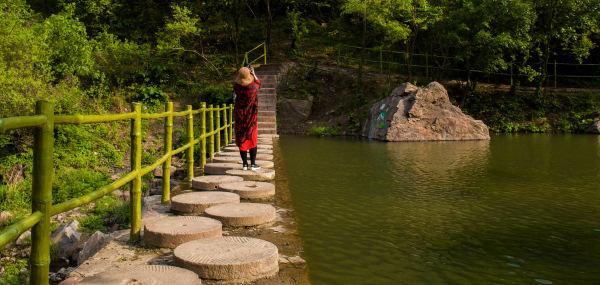 """汝州 游记        九峰山森林公园,汝州市人民的后花园,可谓""""养生休闲"""