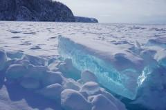 看不够的冰雪-贝加尔湖