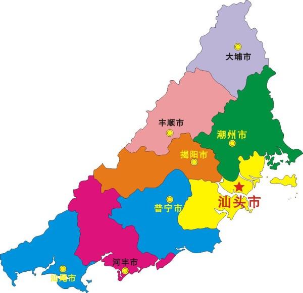 潮州 手绘 美食地图