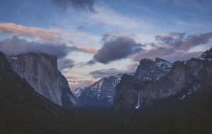 【优胜美地国家公园图片】Yosemite - 暴风雪后片刻宁静