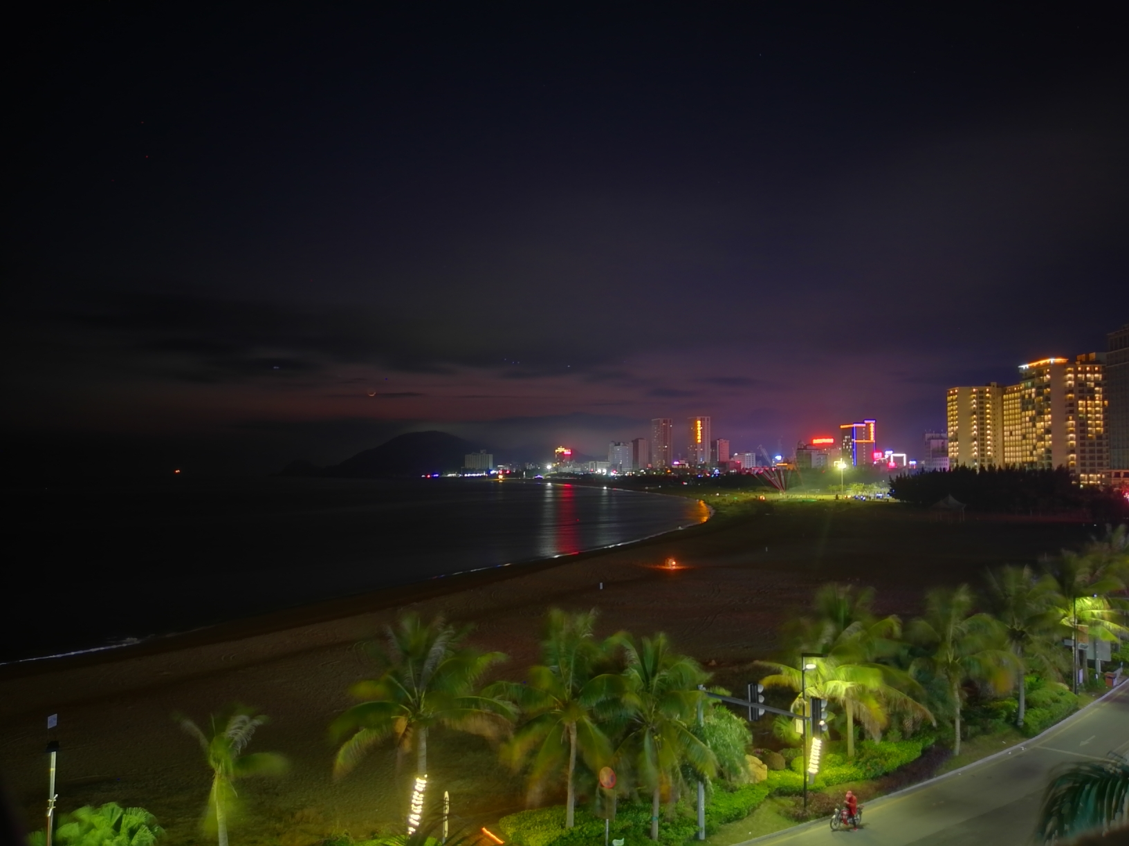 阳江&夜景&海陵岛&大角湾