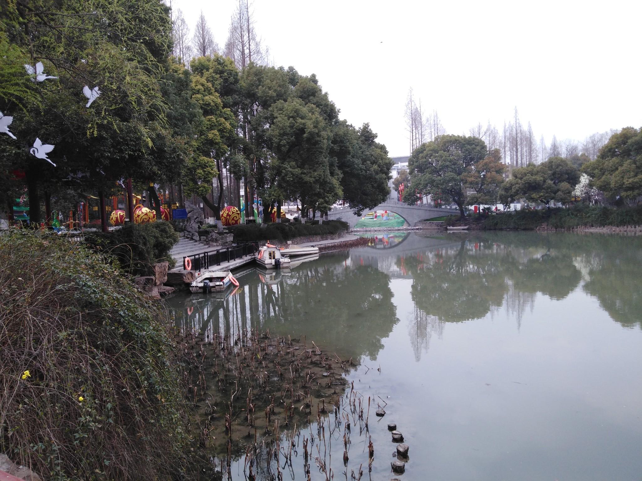 烟花三月,长江两岸-(四)白鹭洲公园