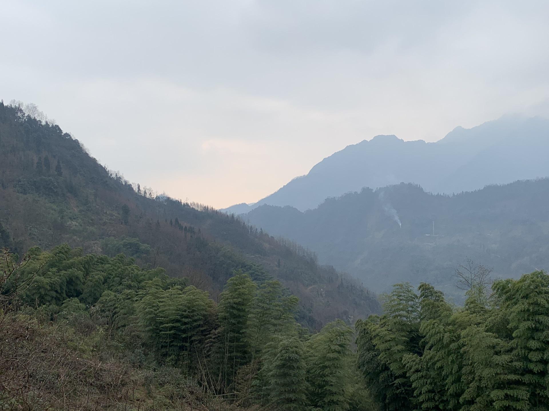 2019年3月初春的雾重庆,中山v攻略攻略-马蜂窝大邑到普寨黑抚仙湖自驾游攻略图片