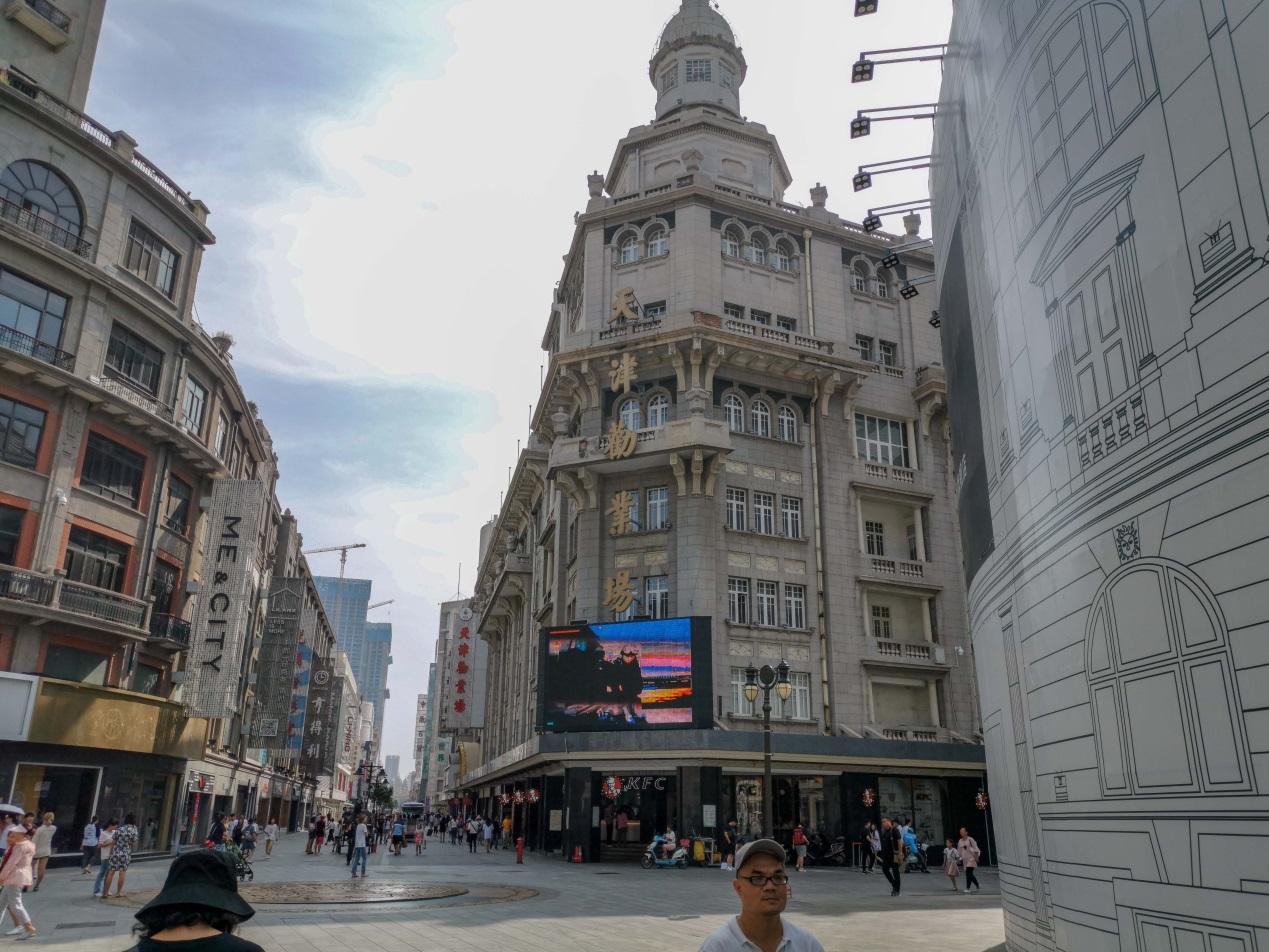 天津最繁华的商场,有中国最出名的电影院