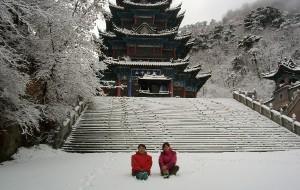 【千山图片】2010年鞍山的第一场雪