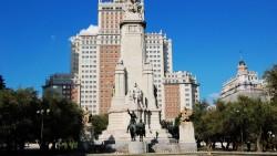 马德里景点-马德里西班牙广场