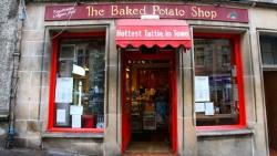 爱丁堡美食-The Baked Potato Shop