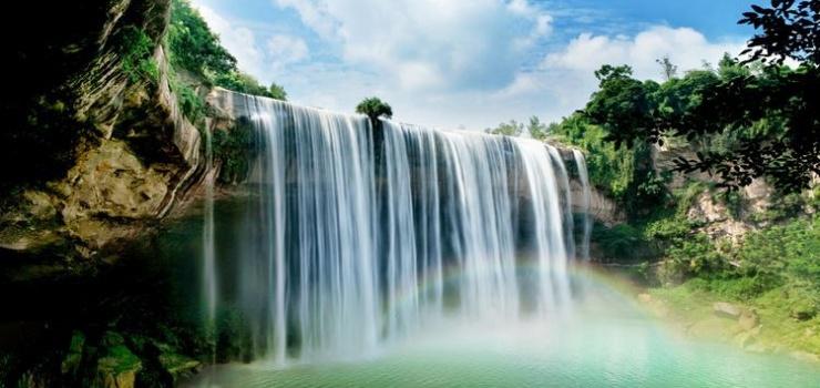 万州大瀑布群景区