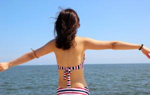 【北戴河图片】北戴河,圆了两个川妹子的看海梦