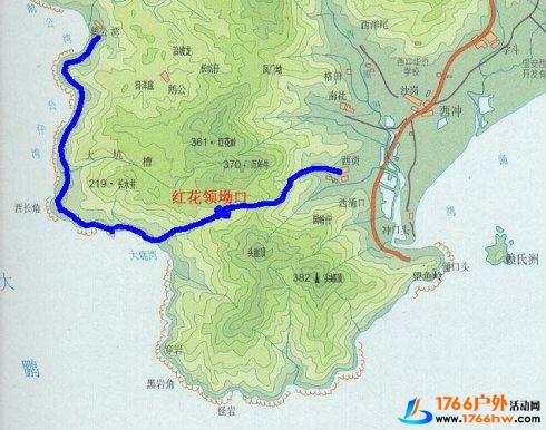 从大鹿港到鹅公湾穿越,累并a攻略着-v攻略攻略-【宁德到福州一日游攻略图片