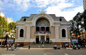 胡志明市景点-西贡歌剧院