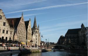【根特图片】比利时宁静的城市根特