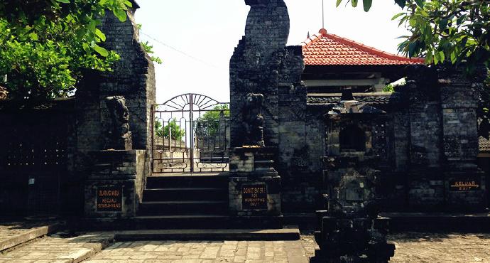 李广林      参观巴厘岛乌鲁瓦图寺未让进门有怀 - 一帘竹影 - 一帘竹影