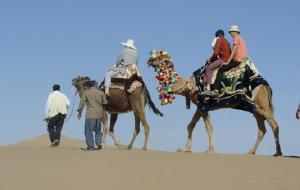 伊朗娱乐-沙漠徒步