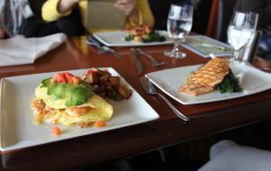 西雅图美食-太空针塔餐厅