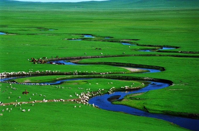 【十 一游】天边草原-乌拉盖,大家庭牧野追风之旅