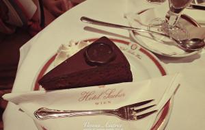 奥地利美食-萨赫蛋糕
