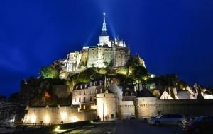 【诺曼底图片】西方奇迹-圣米歇尔山城堡