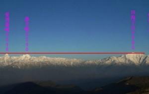 【雅安图片】第十次上牛背山,遇到了震撼的天气----屌爆了的云海、日出、金山、日月同辉