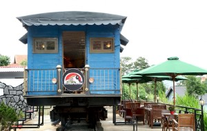 大叻美食-Dalat Train Cafe
