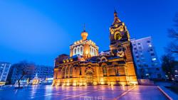 哈尔滨景点-圣·阿列克谢耶夫教堂