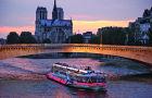 中文语音 巴黎塞纳河游船电子票(送巴黎地图邮费自理/票面日期起一年有效)