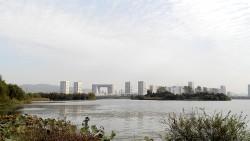 无锡景点-蠡堤公园