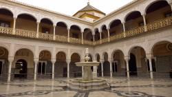 塞维利亚景点-彼拉多官邸