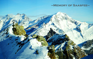【日内瓦图片】【瑞士的香格里拉】Saas-Fee *冬季滑雪六日* --仰望瑞士最高峰