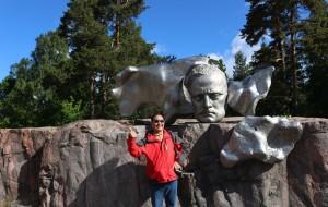 【芬兰图片】北欧芬兰游之...著名音乐家西贝柳斯纪念公园