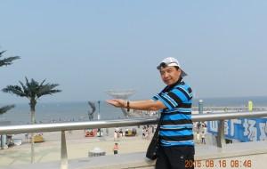 """【鲅鱼圈图片】#消夏计划#""""爸爸去哪儿了——走遍神州""""之辽宁营口鲅鱼圈2日自助游。"""